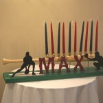 Red Sox Themed Bar Mitzvah - Candle Lighting Piece
