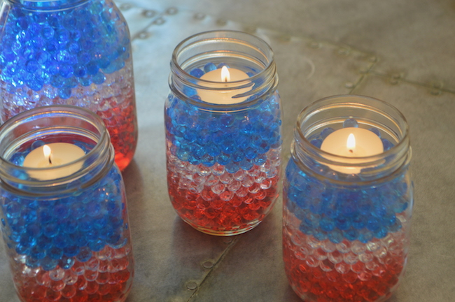 July-4th:Candles