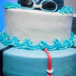 Swim Cake by Julie Armstrong - LizMar Sweets - Photo by Get the Picture Productions