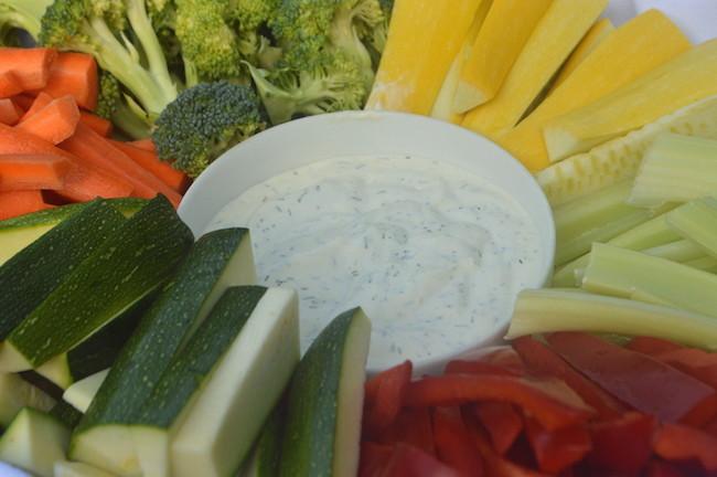 veggies&dip