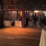 Bar in Bat House for rustic wedding