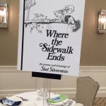 Giant Book Centerpiece Topper for Book Themed Party - Where the Sidewalk Ends
