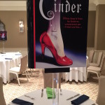 Giant Book Centerpice Topper for Book Themed Bat Mitzvah Party