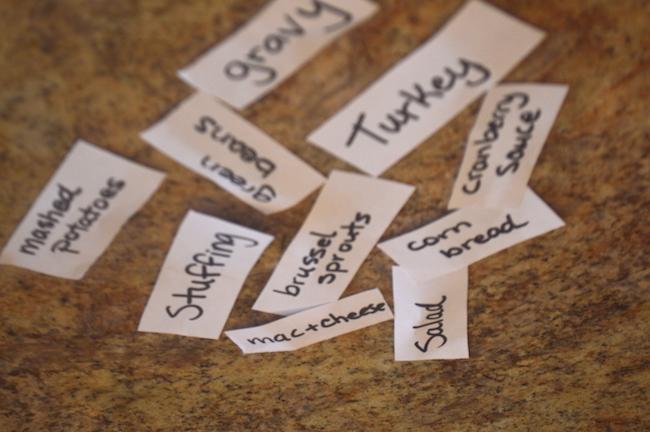 Labels for Serving Plates