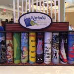 Candle Lighting Piece of a Bookshelf with Books for Book Themed party