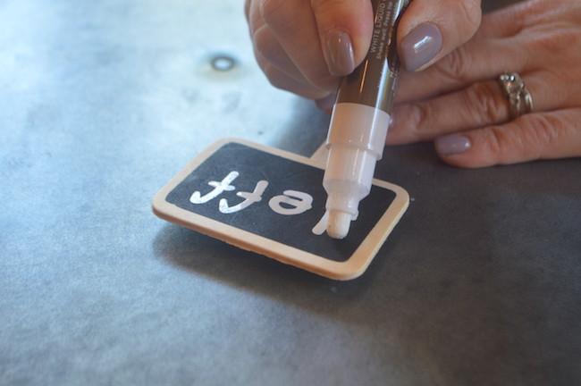 liquid chalk pen for chalkoard pick for mini pumpkin place card