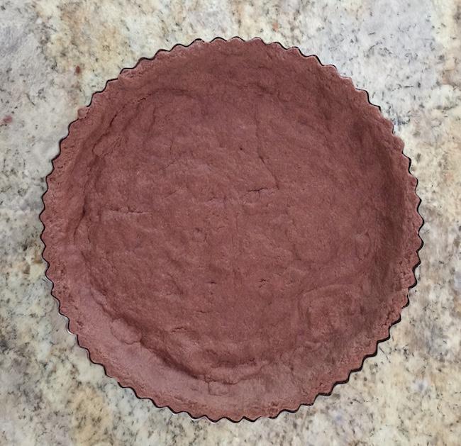 Cooked Chocolate Tart Crust