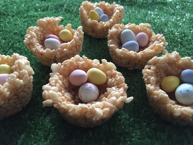 Finished Easter Egg Nests
