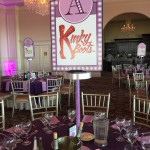 Broadway Themed Bat Mitzvah Party