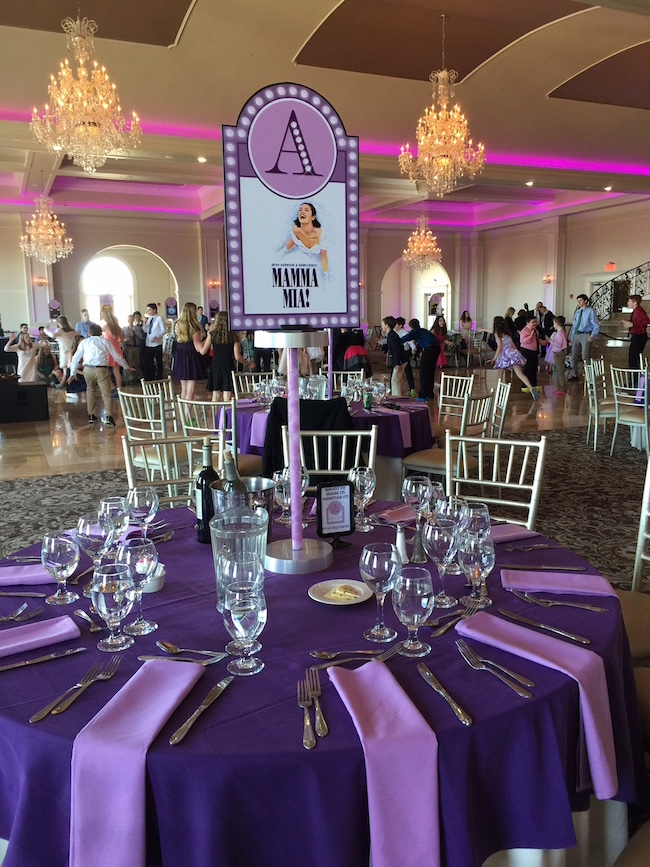 Gallery Broadway Themed Bat Mitzvah Party