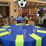 Soccer Themed Bat Mitzvah - Max Catering at the Bushnell