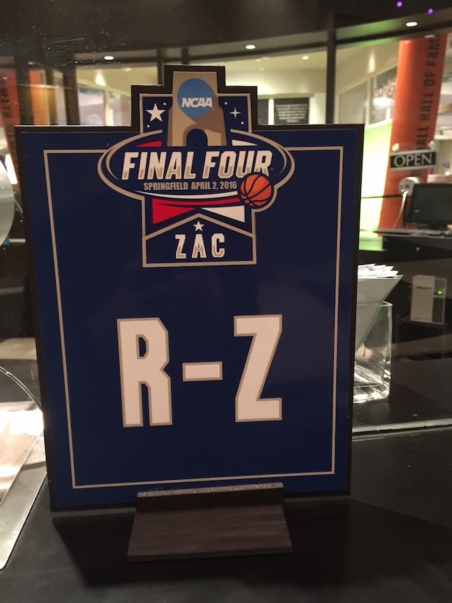 Final Four Themed Bar Mitzvah Party