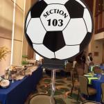 Soccer themed Bat Mitzvah