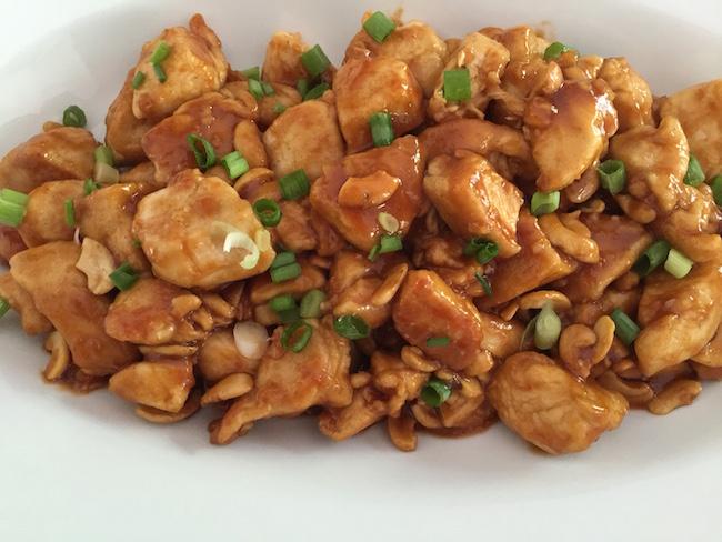 Chicken with Cashews