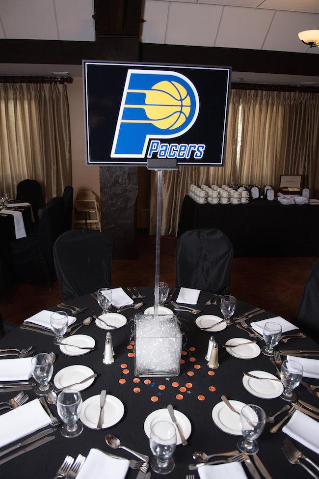Pacers Centerpiece