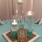 Elegant Beach Themed Bat Mitzvah Party