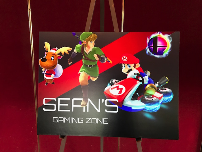 Video Game Sign