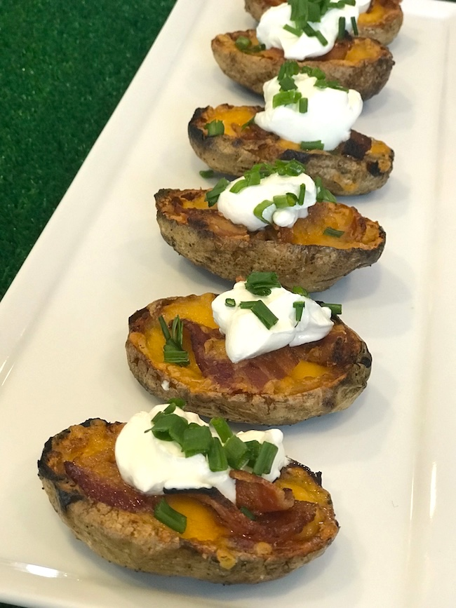 Loaded Crispy Potato Skins