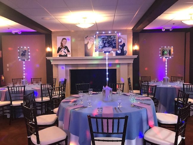 Art Themed Bat Mitzvah Party